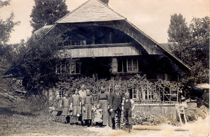Hübeli Farm House in late 1800's.